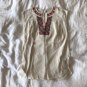 Madewell Embroidered Belize Cover Up